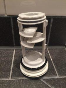 Fremdkörperfalle oder Flusensieb - in neueren Waschmaschinen wird meist nur noch eine Fremdkörperfalle verbaut.